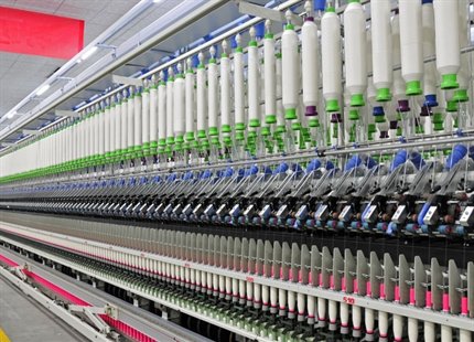 Textile manufacturing humidification